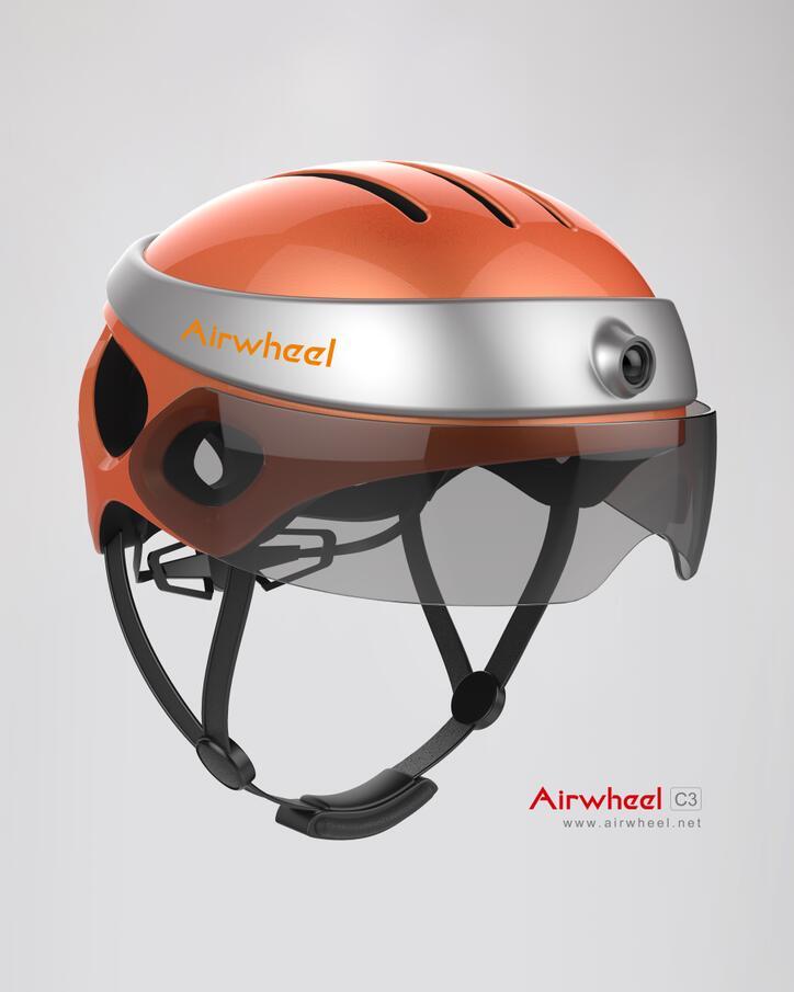 Airwheel c3 지능형 헬멧