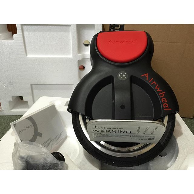 Airwheel Q1, 전동외발휠