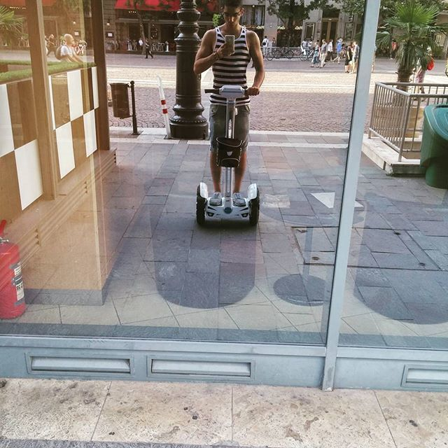 Airwheel S3, 왕발통