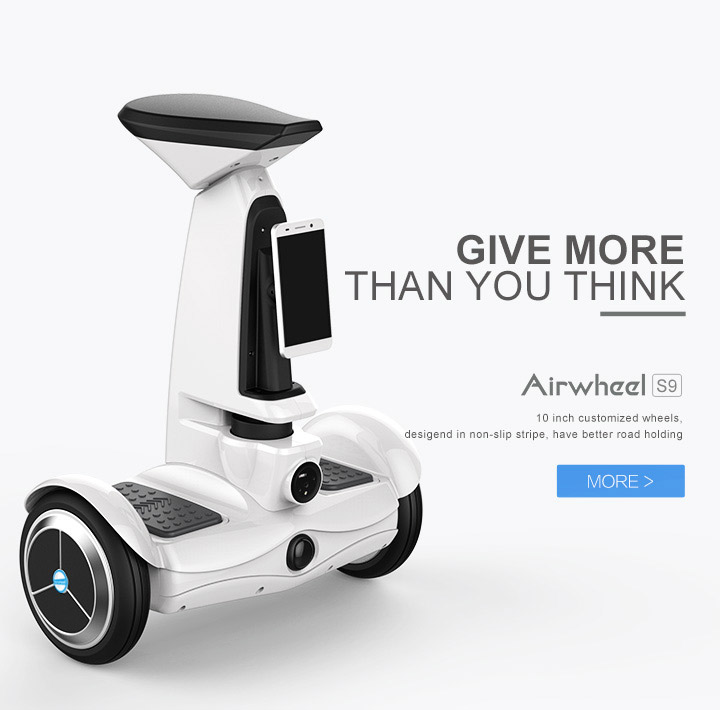 Airwheel 바퀴가 달린 로봇