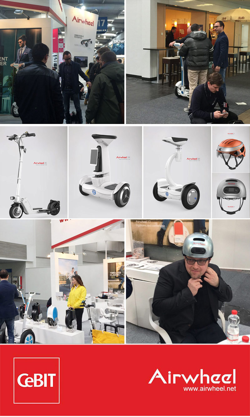 Airwheel at CeBIT 2016